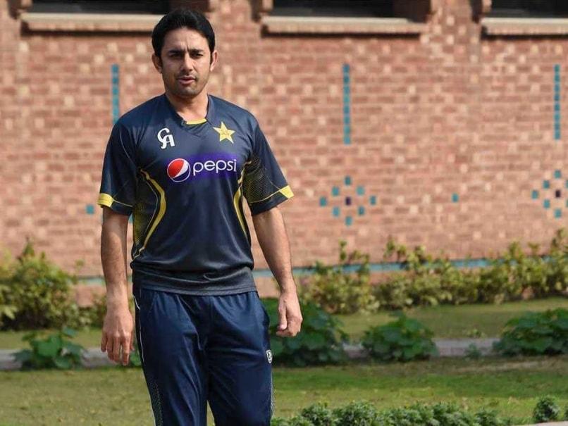 Saeed Ajmal had worked with Saqlain Mushtaq to correct his bowling ...