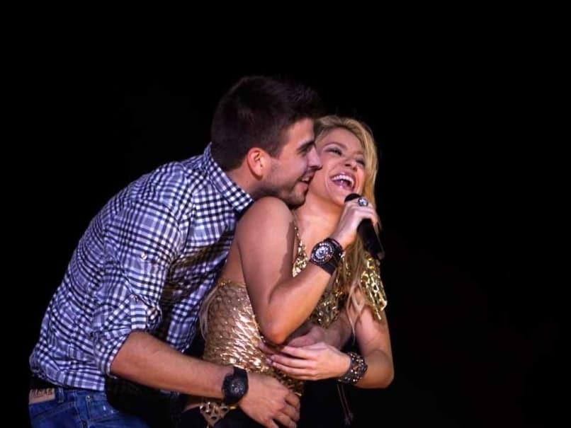 Shakira Mebarak couple
