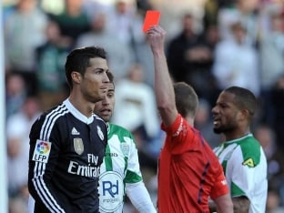 Cristiano Ronaldo Suspended for Two Matches