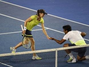 Australian Open: Leander Paes-Martina Hingis Book Place in Last Four
