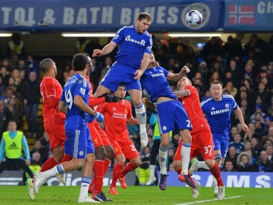 League Cup: Branislav Ivanovic Sinks Liverpool F.C. as Chelsea F.C. Reach Final
