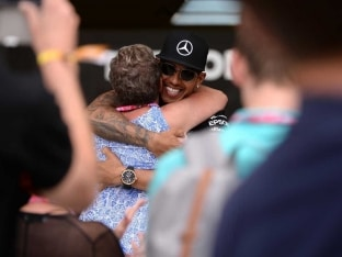 Home-Made Hero Lewis Hamilton 'Living a Dream'