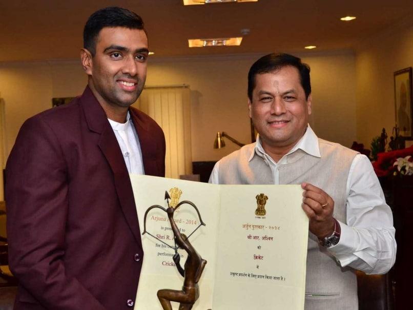 ashwin arjuna award