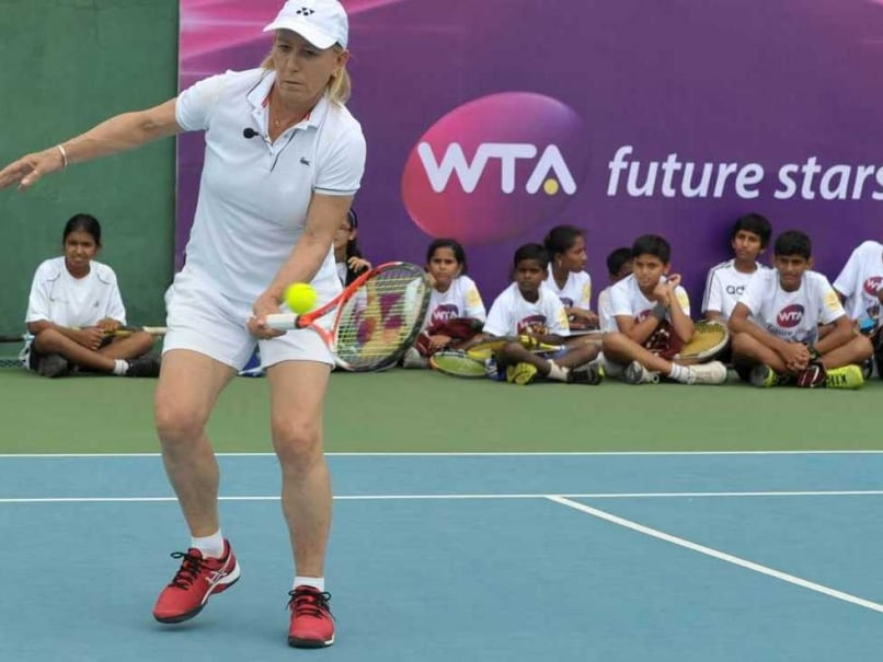 Martina Navratilova Sania Hyderabad