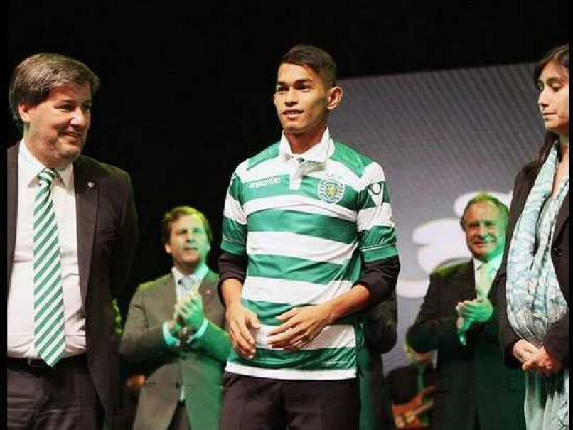 Martunis Sporting Lisbon unveiling