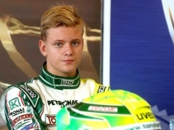 Michael Schumacher's Son Mick Wins Twice in One Day at F4 Championships