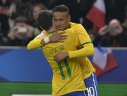 Coach Dunga Pleased With Brazil's 3-1 Win Over France