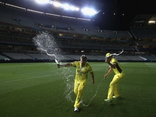 After Cricket World Cup Win, Australian Team on a High in Breakfast Radio Show