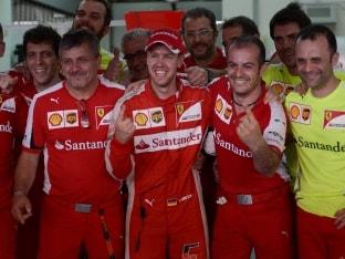 Sebastian Vettel Pays Tribute to 'Hero' Michael Schumacher After Winning Malaysian GP