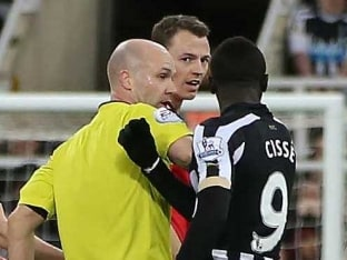 Jonny Evans, Papiss Cisse Charged Over Spitting Incident