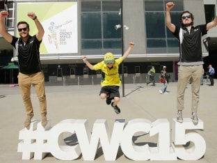 World Cup Final: Melbourne Cricket Ground Turns Into a Sea of Yellow and Black