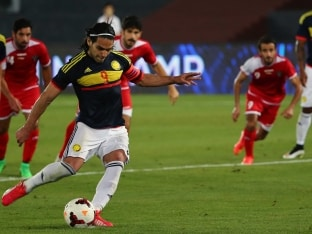 Radamel Falcao Becomes Colombia's All-Time Joint Top-Scorer