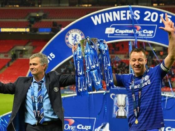 Wembley Win leaves Mourinho Feeling Like a Kid