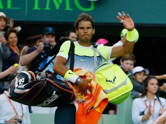 Nadal Stunned in Miami; Serena Williams, Andy Murray Win