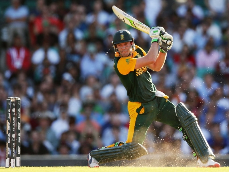 AB de Villiers Heads ICC Batting Charts; Dilshan Top All ...