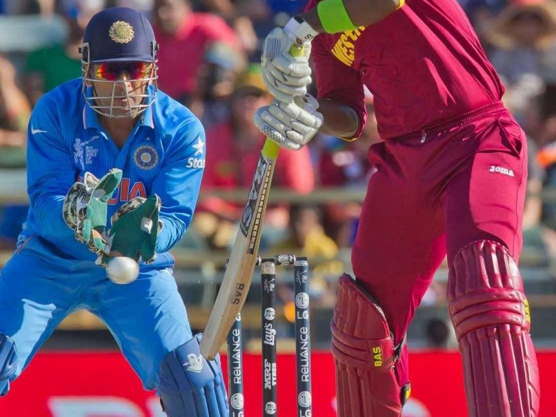 Cup 2015: MS Dhoni Keeps Without Pads Against West Indies - World Cup ...