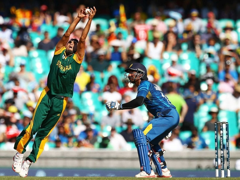Tahir catch vs SL
