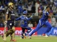 IPL 8: Pandya-Pollard Help Mumbai Stun Kolkata in Thriller, Keep Play-off Hopes Alive
