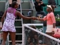 2 Young Americans Smiling: One Upset Venus Williams. The Other Lost