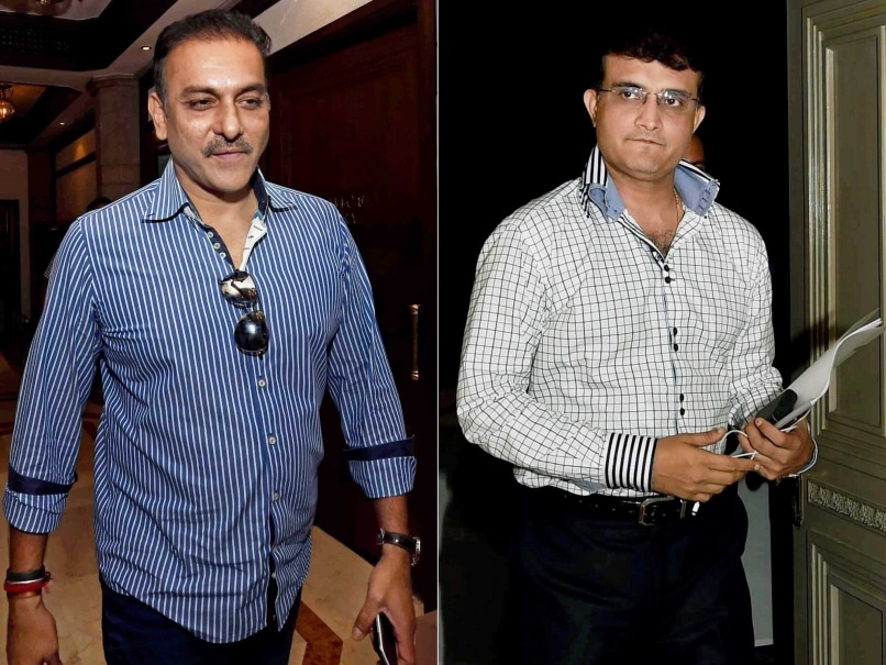 Ravi Shastri Sourav Ganguly