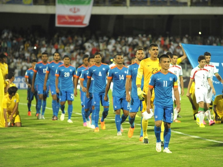 Indian Football Team World Cup Qualifiers 2018 Results