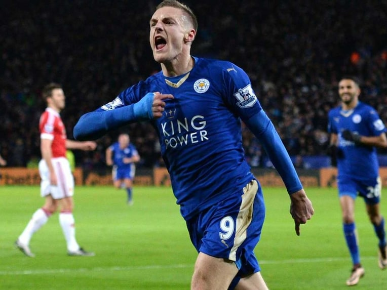 Vardy record epl fixtures history of epl winners