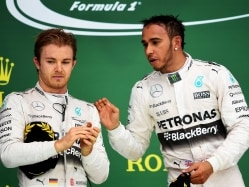 Gone with the Wind for Nico Rosberg