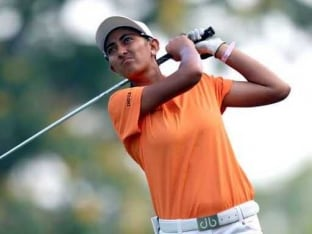 Aditi Ashok Finishes Tied 27th at Buick Championships