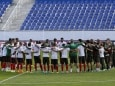 Portugal Football Team Observes Minute of Silence for Syrian Migrants