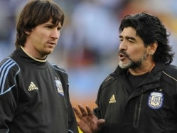 Lionel Messi's International Retirement Was 'Staged': Diego Maradona