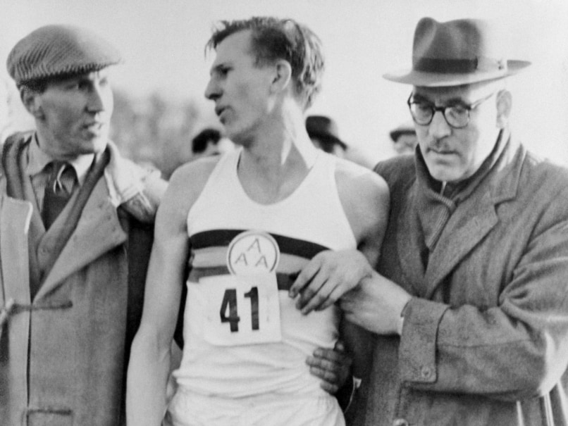 Roger Bannister's Four-Minute Mile Spikes Sold For 220,000 ...