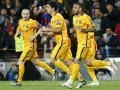 UEFA Champions League: Luis Suarez Double Salvages FC Barcelona Against 10-Man Atletico Madrid