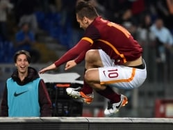 Francesco Totti Stamps His Legendary Status With Vintage Show For Roma