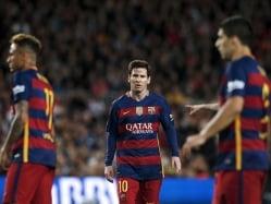 Tiring 'Trident' Shouldering Blame For Barcelona Slump