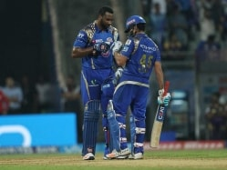 IPL: Rohit Sharma, Kieron Pollard Fire Mumbai to Win Over Kolkata