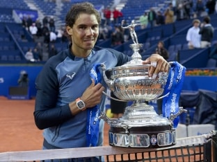 Rafael Nadal Equals Guillermo Vilas Clay-Court Record With Ninth Barcelona Open Title