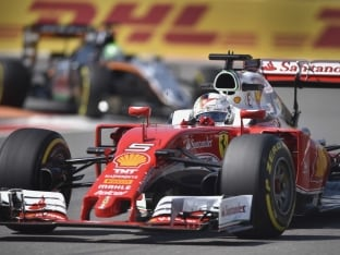 Sebastian Vettel Handed Five-Place Grid Penalty For Russian Grand Prix