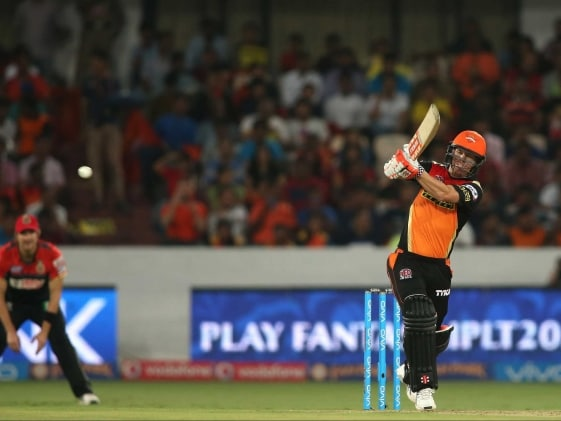 IPL: David Warner Led Hyderabad Hand Bangalore 15-Run Defeat