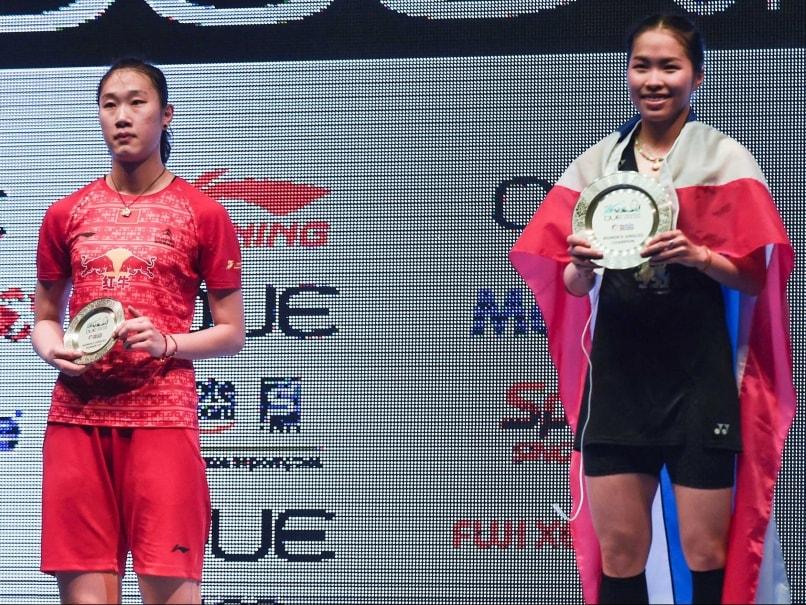 Sony Dwi Kuncoro, Ratchanok Intanon Win Singapore Open Superseries
