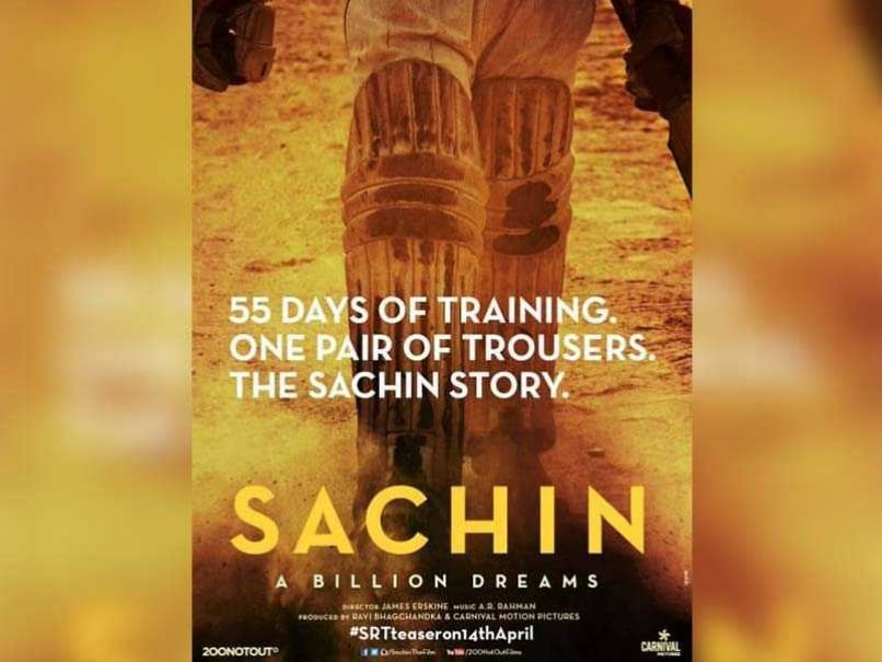Sachin Tendulkar Unveils The Poster Of His Biopic On Twitter