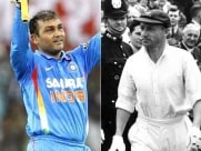 Virender Sehwag's Funny Way to Celebrate Don Bradman Birthday