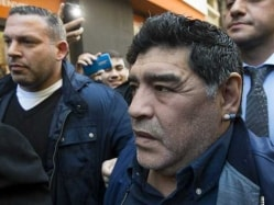 Diego Maradona Grounded in Argentina After Passport Mix-Up
