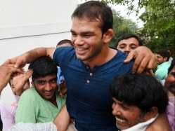 Sushil Kumar Asks Narsingh Yadav to Win Medal For Him And Country
