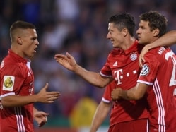 Lewandowski Scores Hat-Trick as Bayern Munich Rout Bremen in Opener