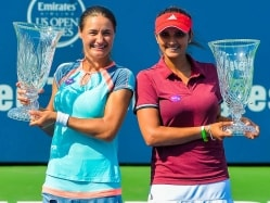 Sania Mirza-Monica Niculescu Win Connecticut Title Ahead of US Open