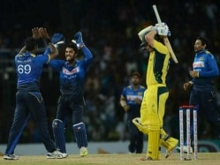 Mathews' All-Round Show Helps Lanka Beat Australia to Level Series 1-1
