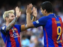 La Liga: Luis Suarez Scores Hat-Trick as Barcelona Thump Real Betis
