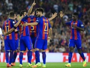 Barcelona Beats Sevilla 3-0 to Win Spanish Super Cup