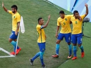 Rio 2016: Brazil Come One Step Closer to Football Gold, Thrash Honduras 6-0