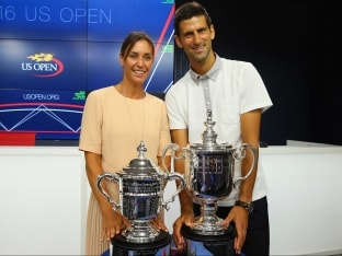 Novak Djokovic, Rafael Nadal And Phil Collins Kick-off US Open
